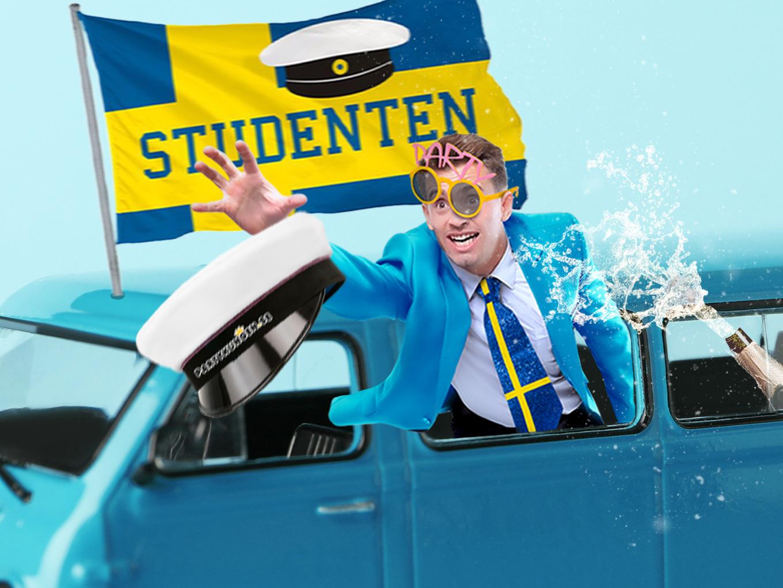 Fixa partybussen inför studenten 2021