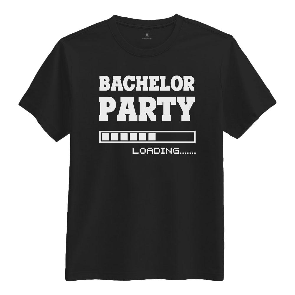 Bachelor Svart T-skjorte