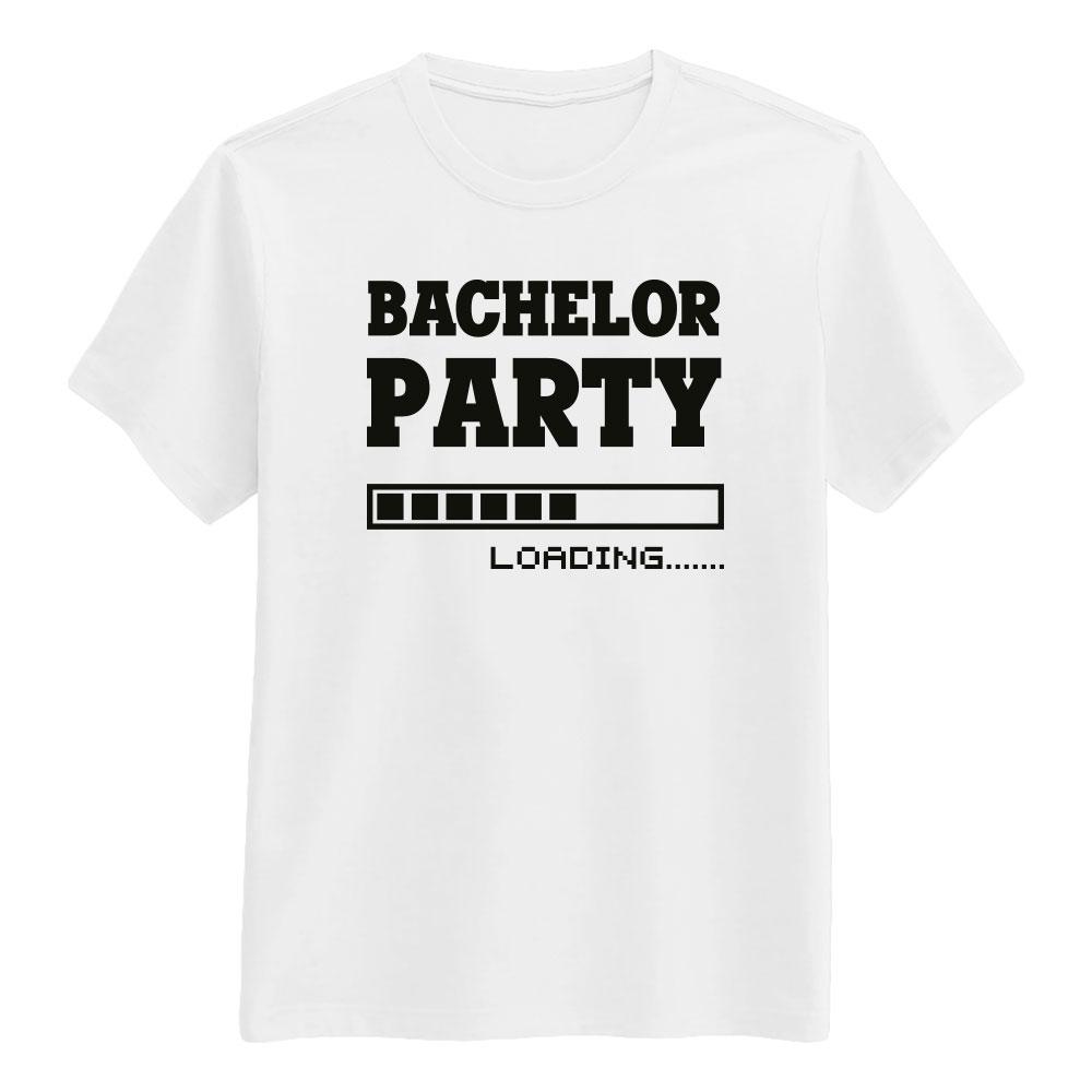 Bachelor Hvit T-skjorte