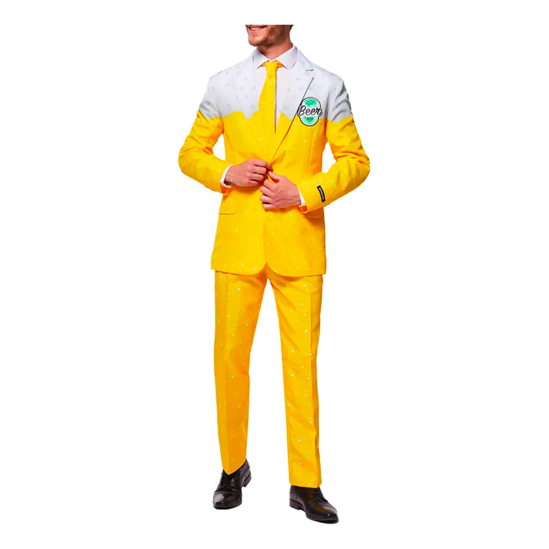 SUITMEISTER BEER YELLOW KOSTYM