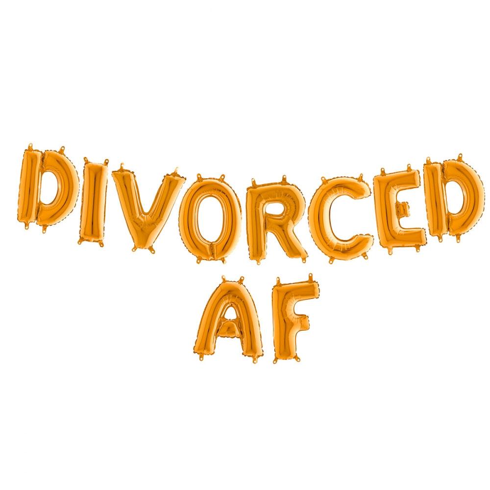 Divorced AF ballonger