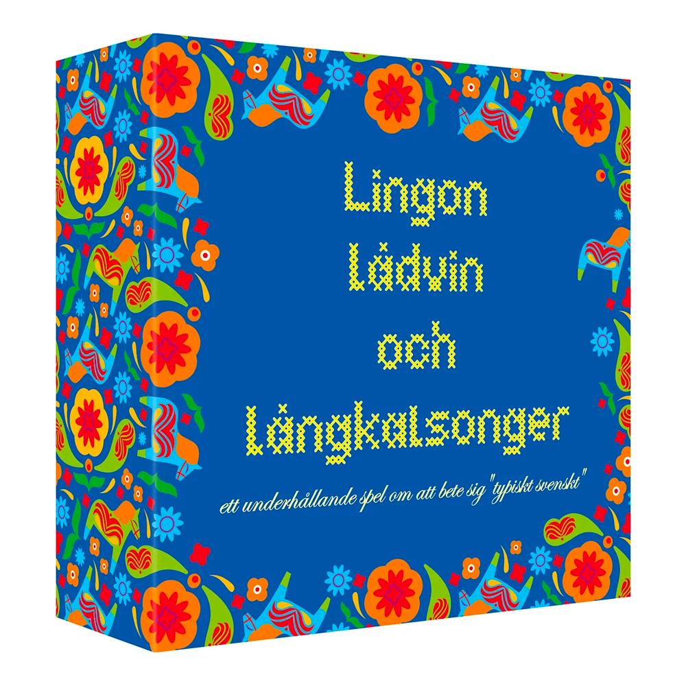 LINGON, LÅDVIN OCH LÅNGKALSONGER FRÅGESPEL