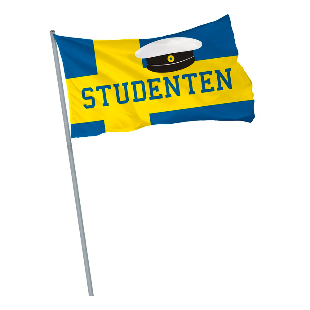 SVERIGEFLAGGA STUDENTEN