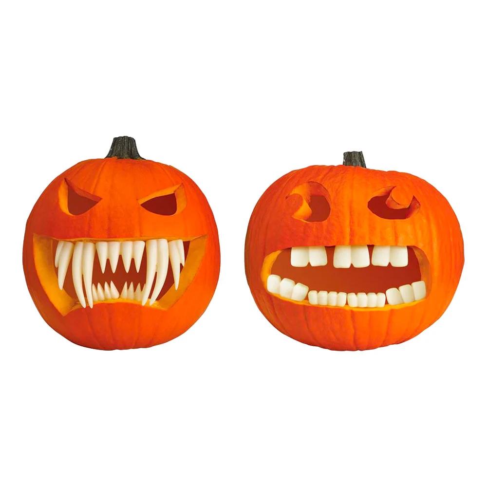 Gresskar med tenner