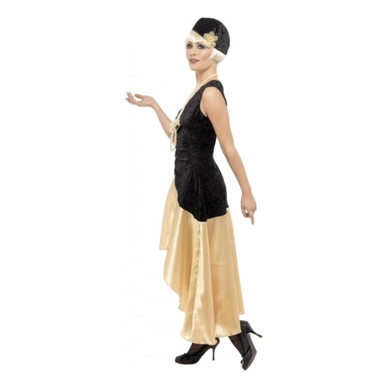 20 tals Gatsby Girl Maskeraddräkt Medium