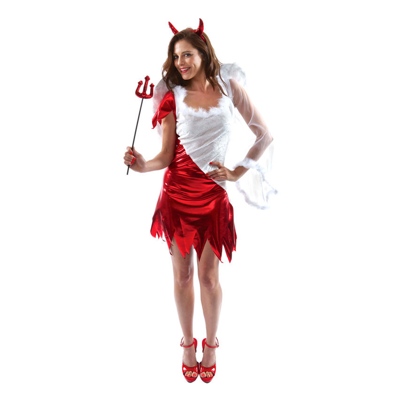 ängel halloween kostym