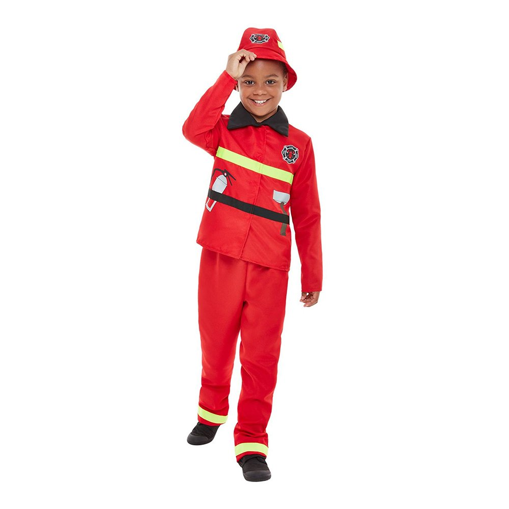 Brandman Sam Maskeraddräkt Barn