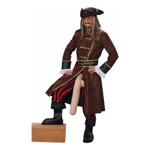 Välhängd Pirat Maskeraddräkt One size
