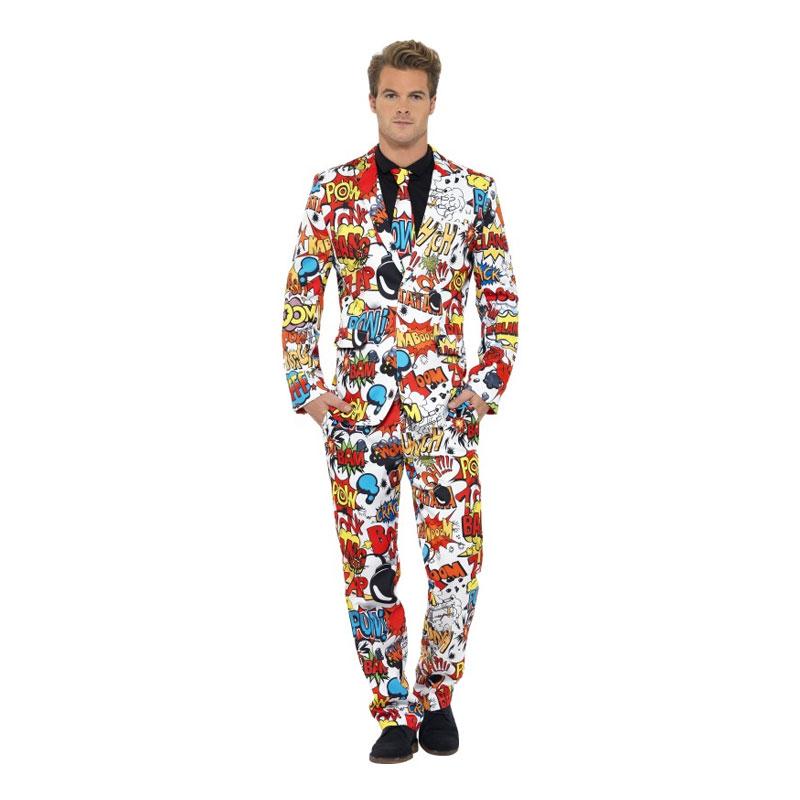 Regnbågsfärgad Kostym Maskeraddräkt | Partykungen
