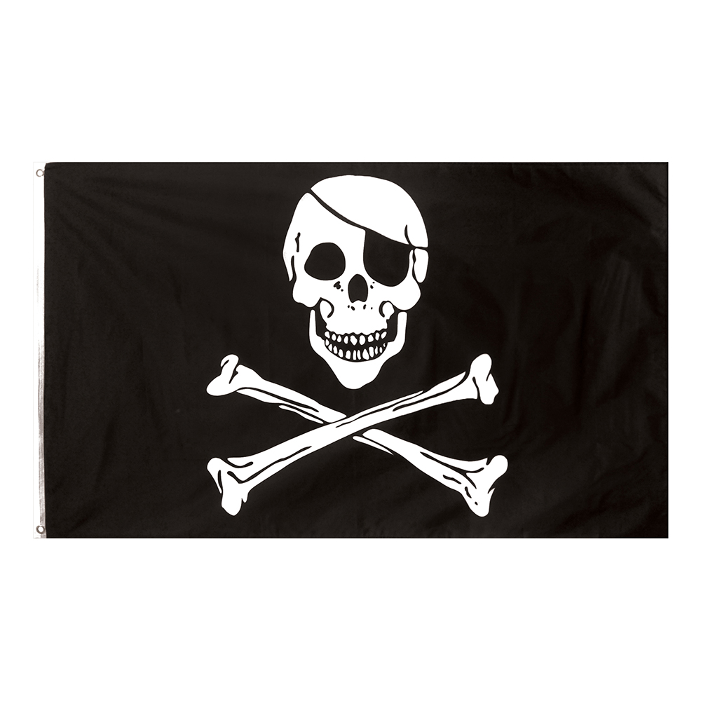 Flagga Jolly Roger