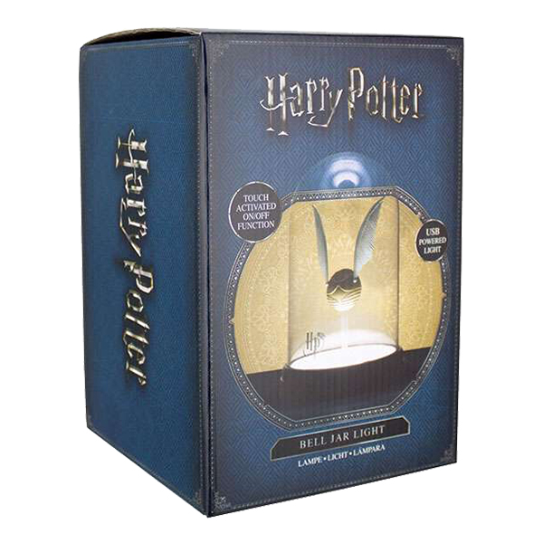 Harry Potter Golden Snitch Lampe Partyking.no