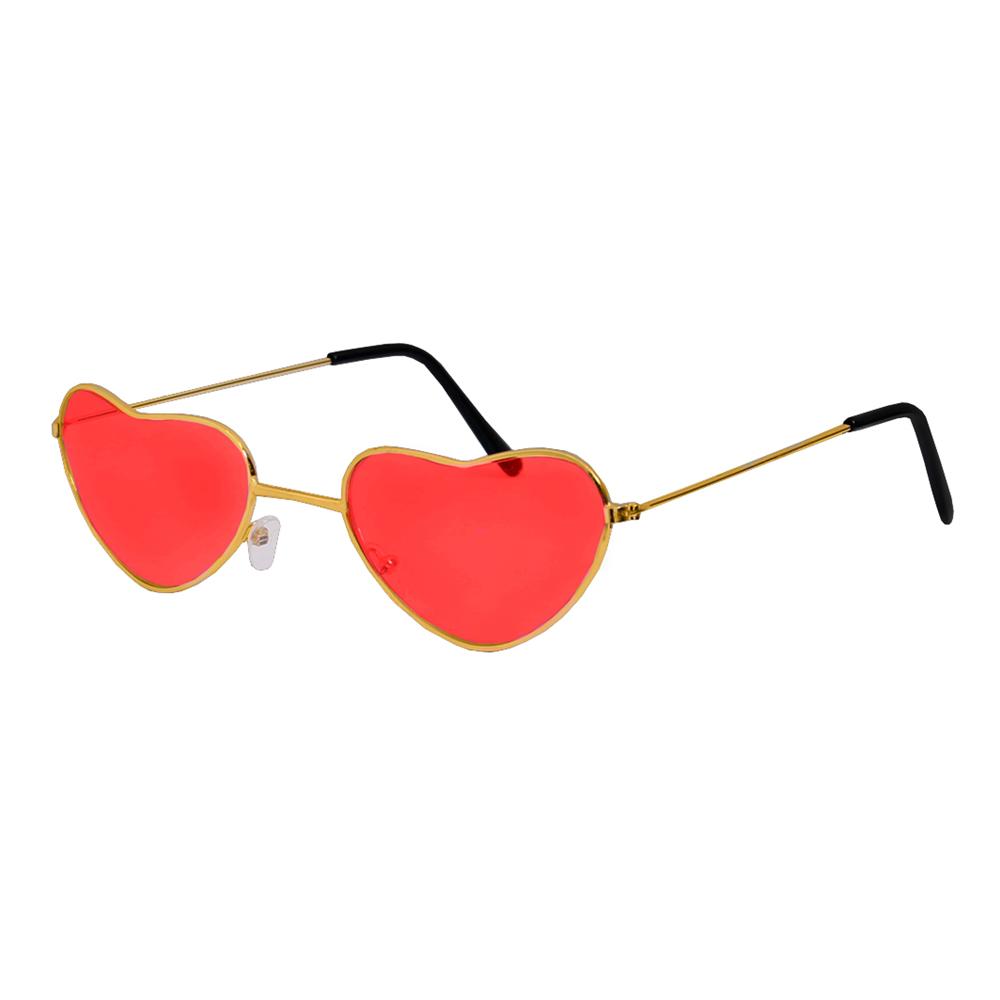 Hjerteformede Hippie Briller One size