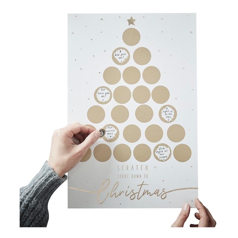 Hauska joulukalenteri-idea! Pallokalenteri kätkee 24 yllätystä pariskunnalle
