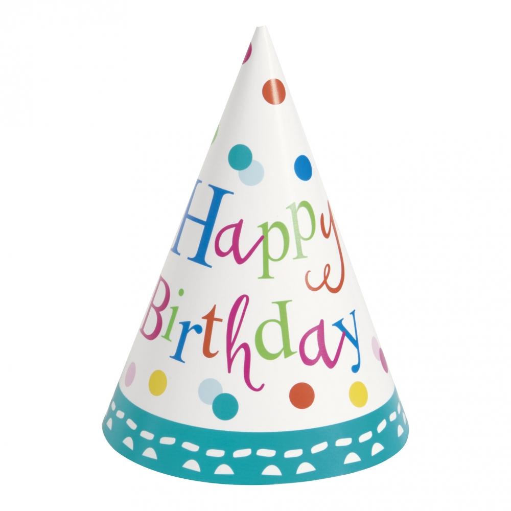 Festhatte Happy Birthday Prikkede