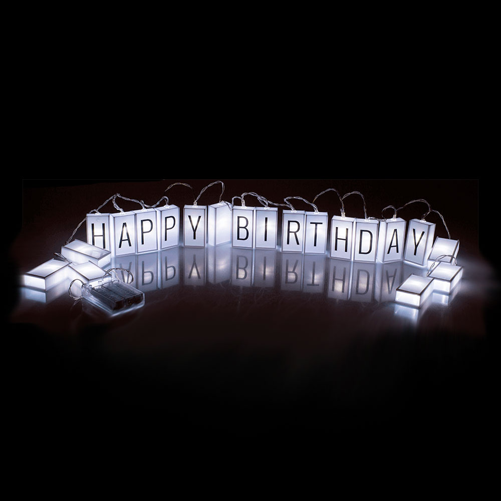 Lightbox LED A5-timer + kirjaimet 21*15 cm