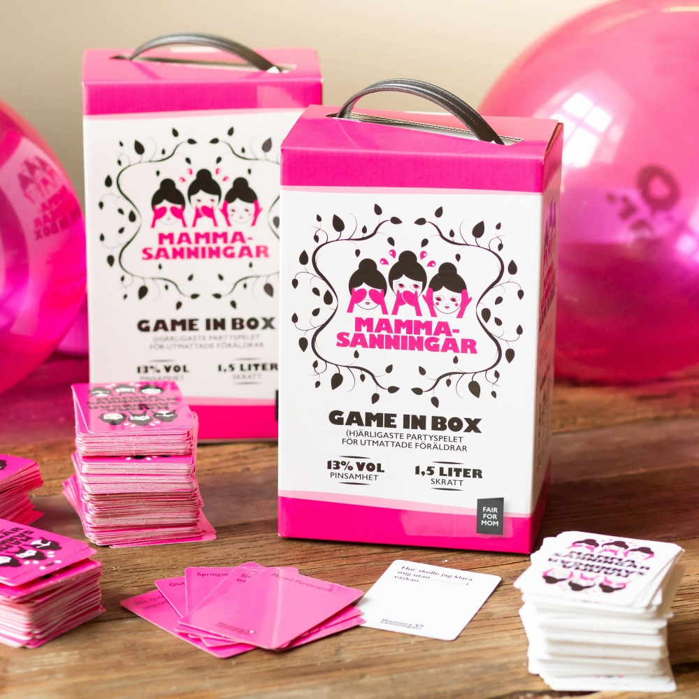 Mammasanningar Game in Box