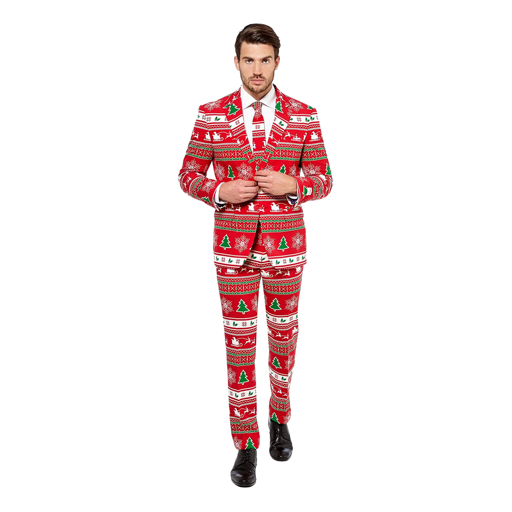 OppoSuits Winter Wonderland Kostym