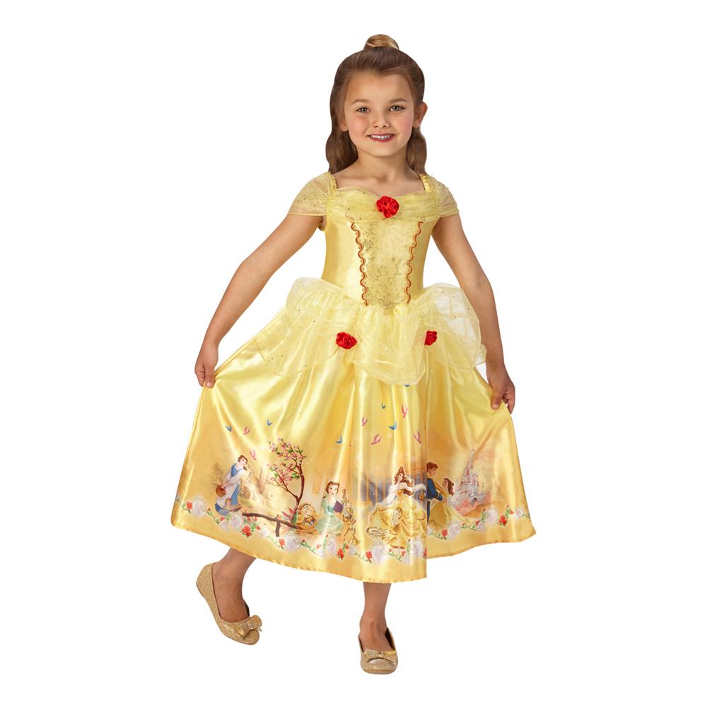 Prinsessan Belle Barn Klänning Small