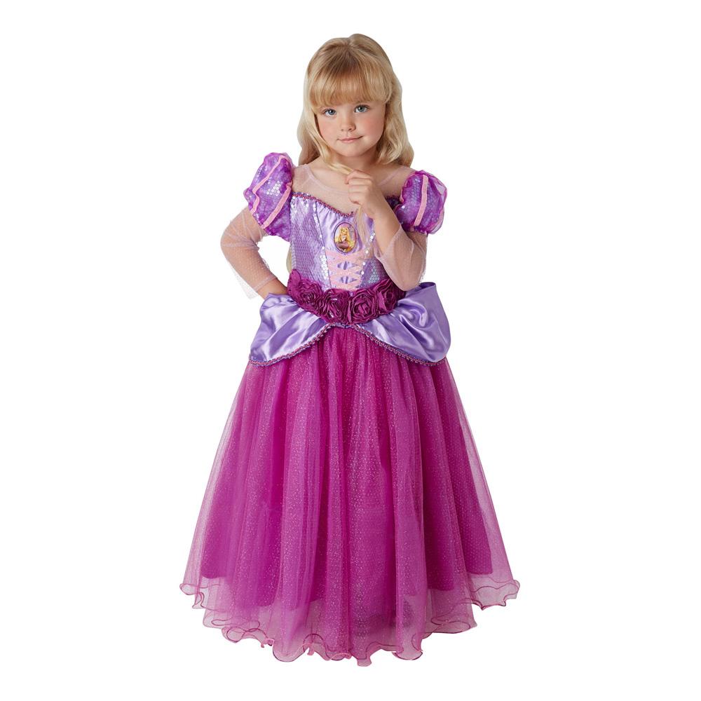 Rapunzel Børnekostume Premium Small