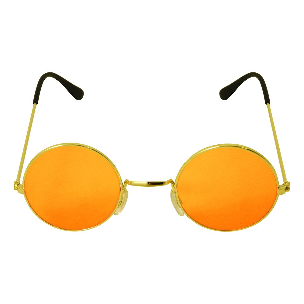 Runde Briller Oransje