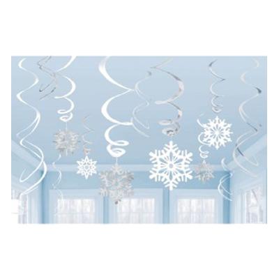 Snöflingor Hängande Dekoration