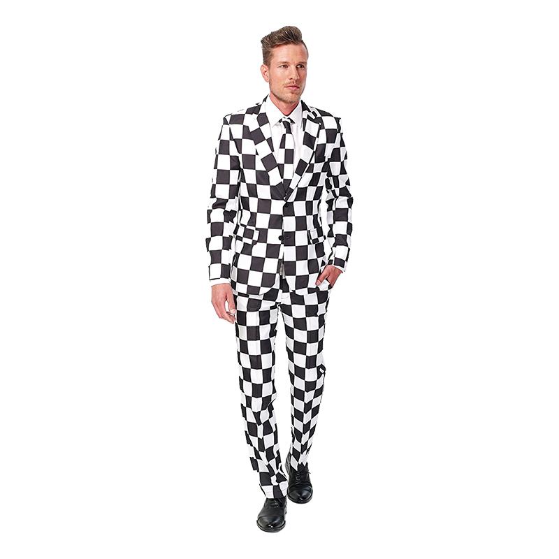 Suitmeister Sjakkrutete Dress Small