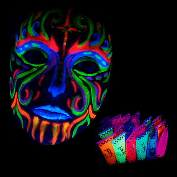 UV Neon Kroppsmaling Janet | Partyking
