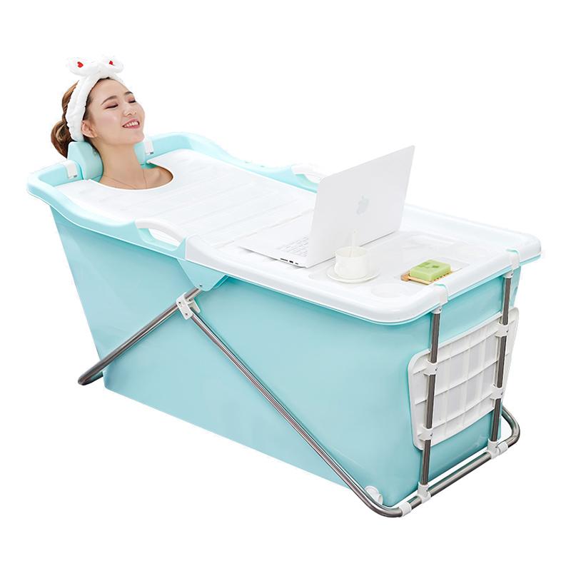 Vikbart badkar