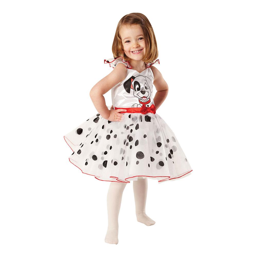 101 Dalmatiner Ballerina Barn Maskeraddräkt - X-Small