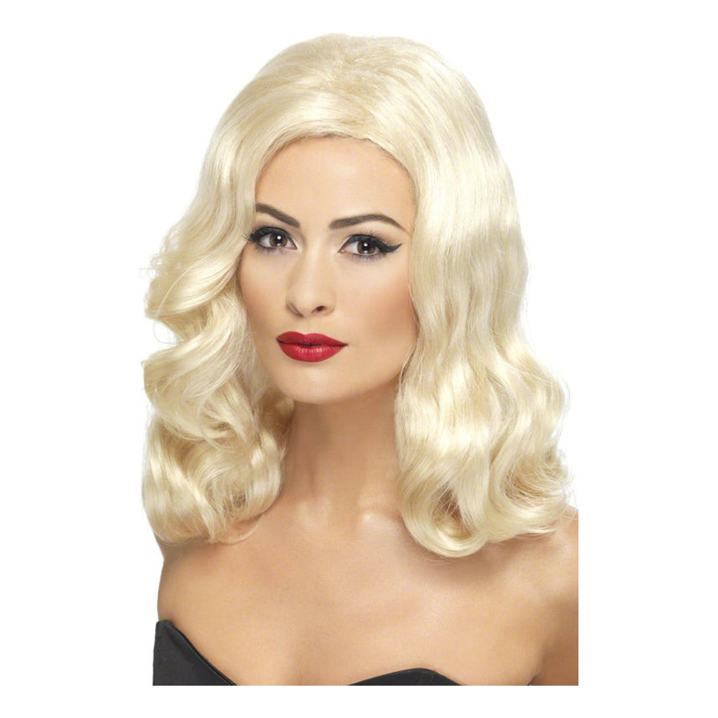 20-tals Blond Peruk - One size