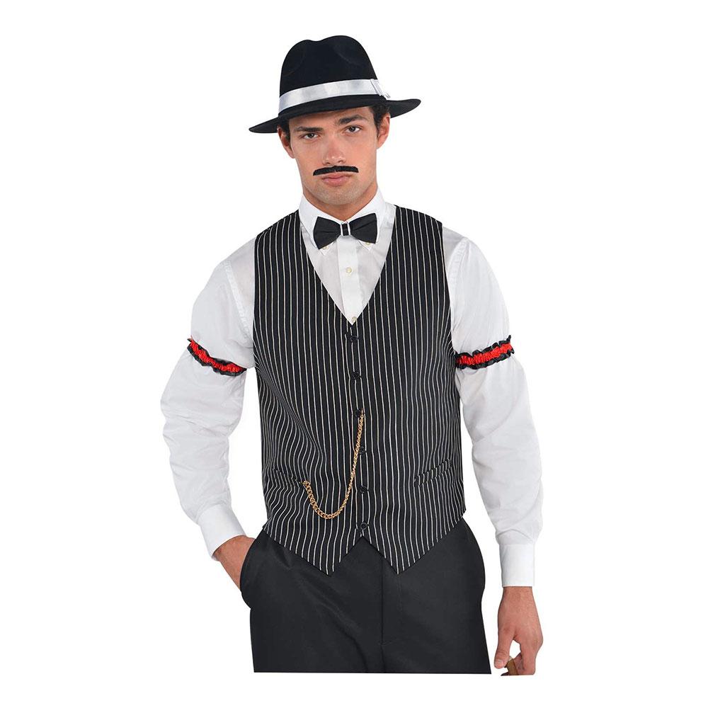 20-tals Gangsterväst - One size
