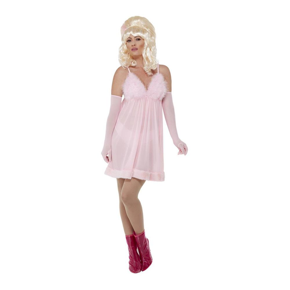 60-tals Glamourflicka Dam Maskeraddräkt - Medium