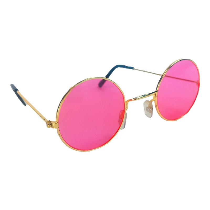 60-tals Glasögon Rosa