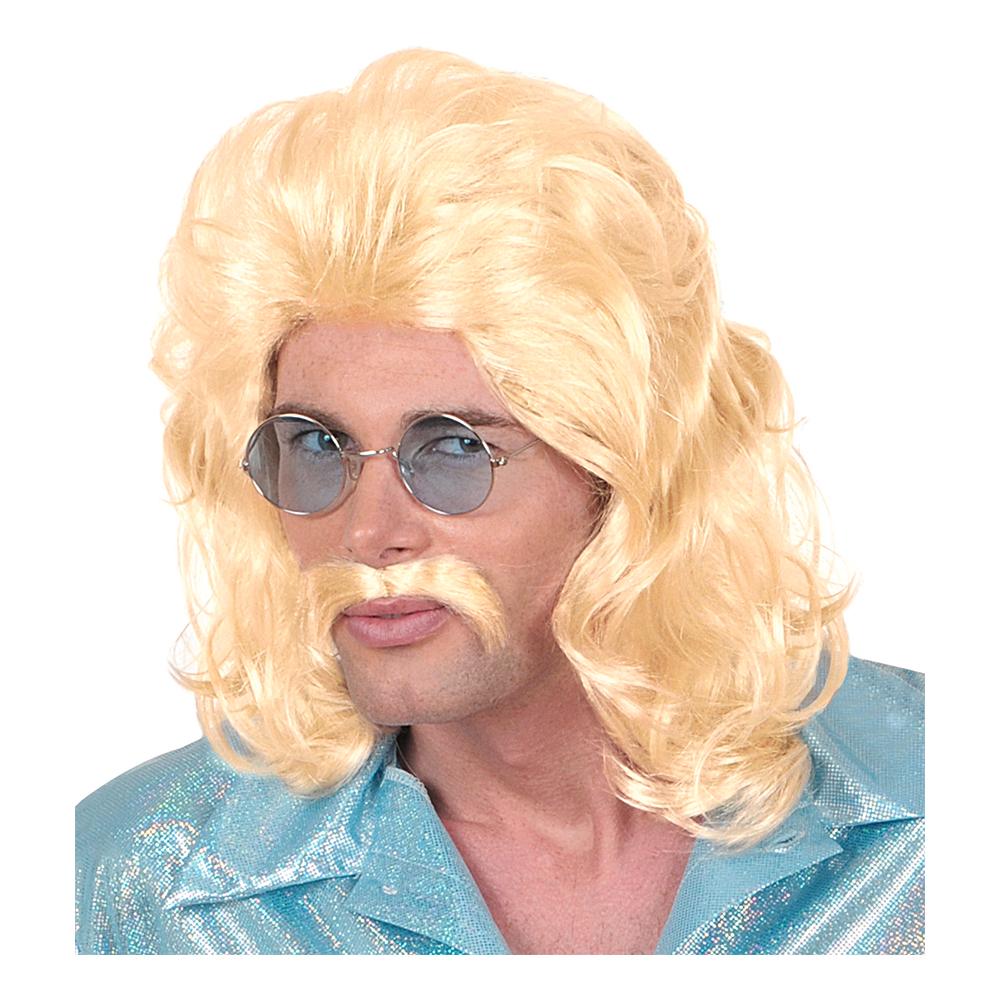 70-tals Blond Perukset