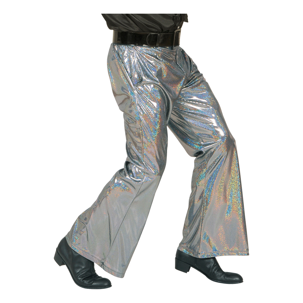 70-tals Byxor Silver - Medium/Large