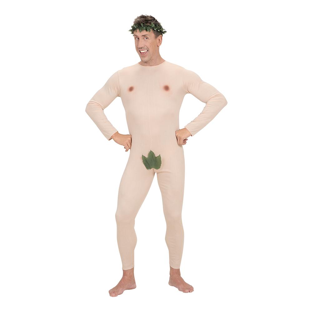 Adam med Löv Maskeraddräkt - Small