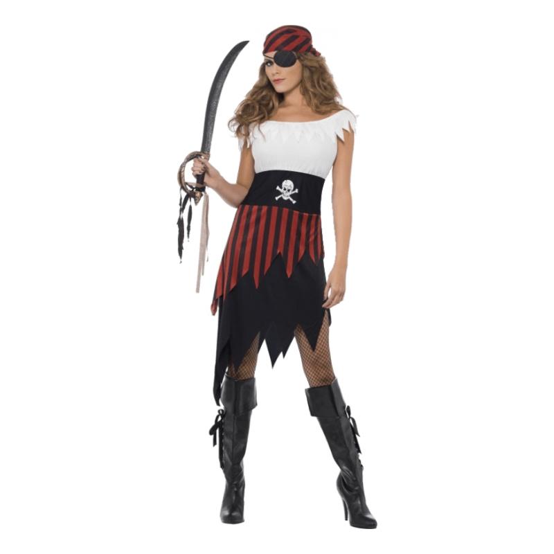 Piratjänta Maskeraddräkt - Small