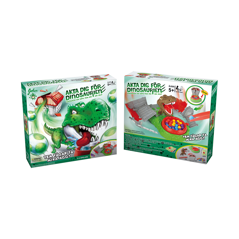 Akta Dig För Dinosaurien Barnspel
