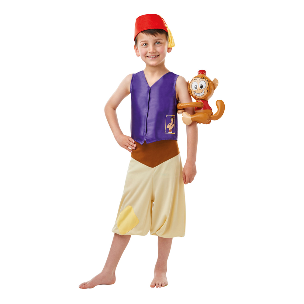 Aladdin Barn Maskeraddräkt - Medium