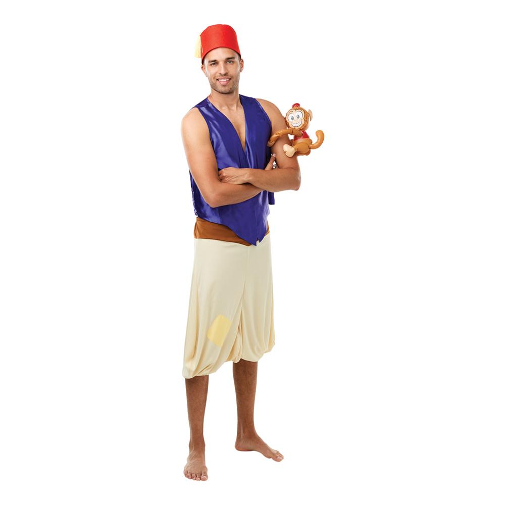 Aladdin med Apa Maskeraddräkt - Standard