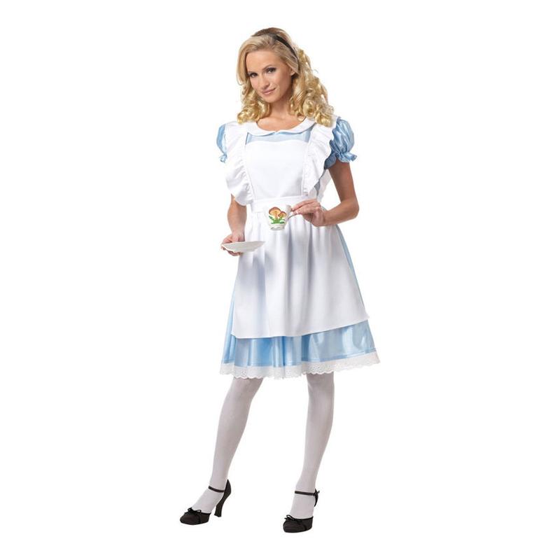 Alice i Underlandet Maskeraddräkt - Small