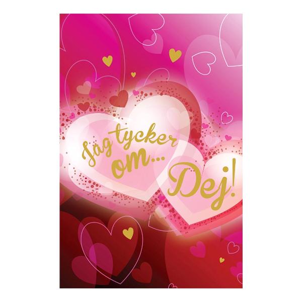 Alla Hjärtans Dag Kort Jag Tycker Om...