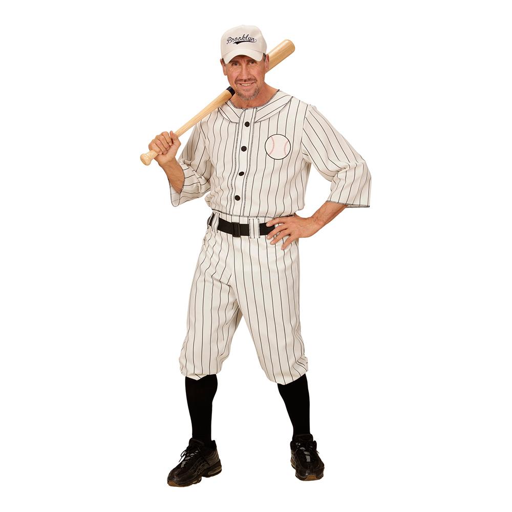 Amerikansk Basebollspelare Maskeraddräkt - X-Large