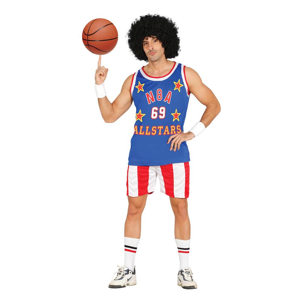Amerikansk Basketspelare Maskeraddräkt - Medium