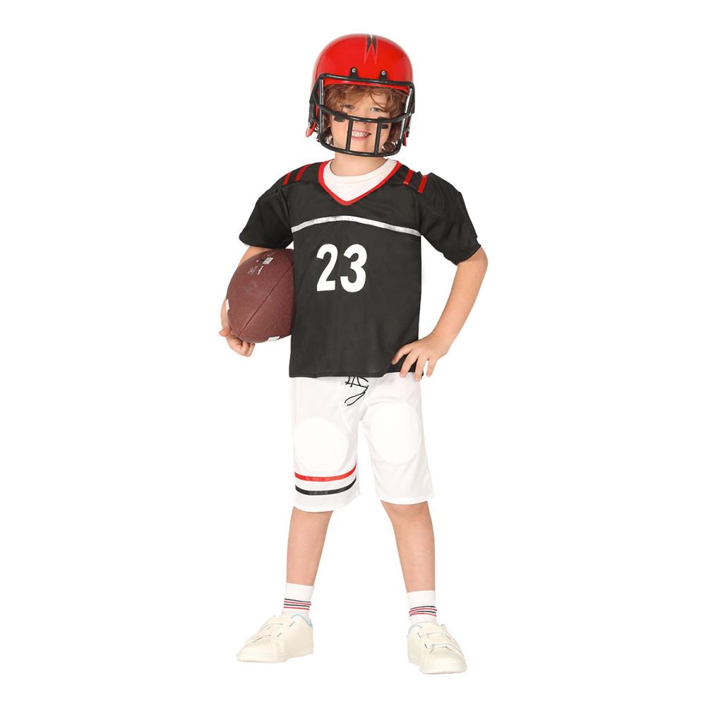 Amerikansk Fotbollsspelare Barn Maskeraddräkt - Large