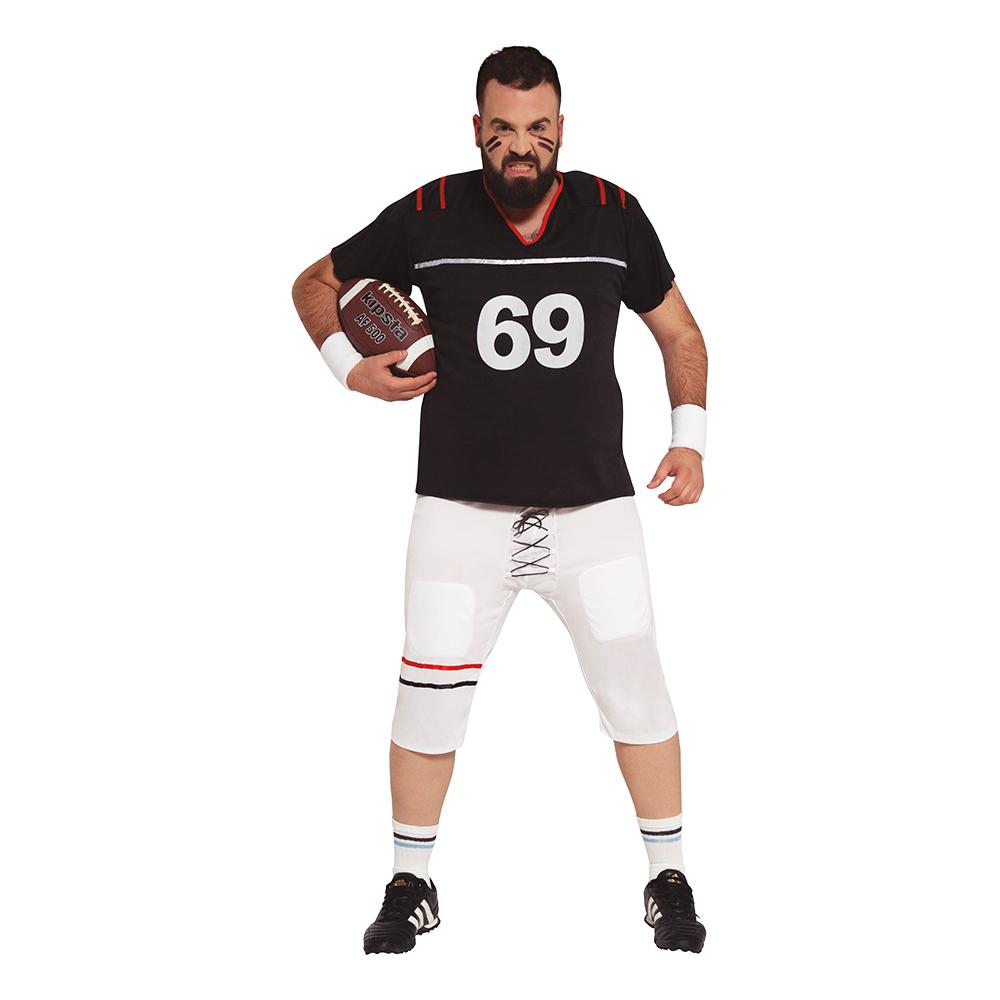Amerikansk Fotbollsspelare Plus-size Maskeraddräkt - Plus-size