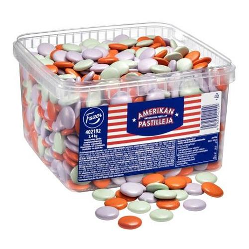 Amerikanska Pastiller - 2,4 kg