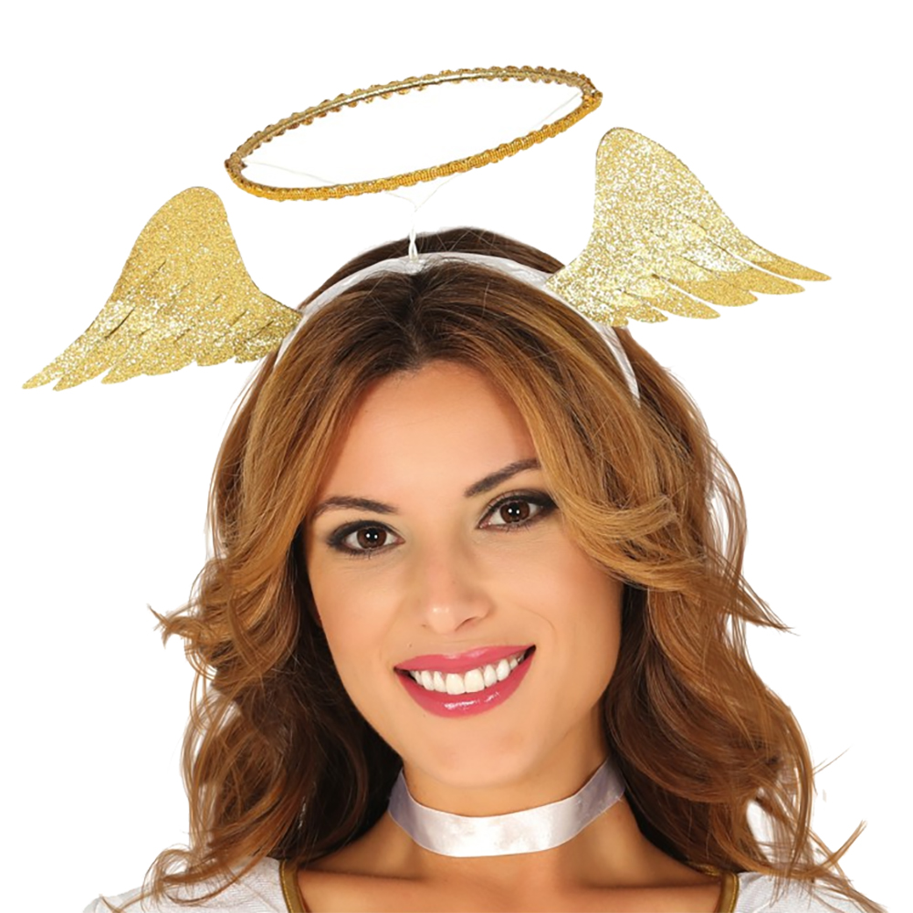 Ängel Diadem med Gloria - One size