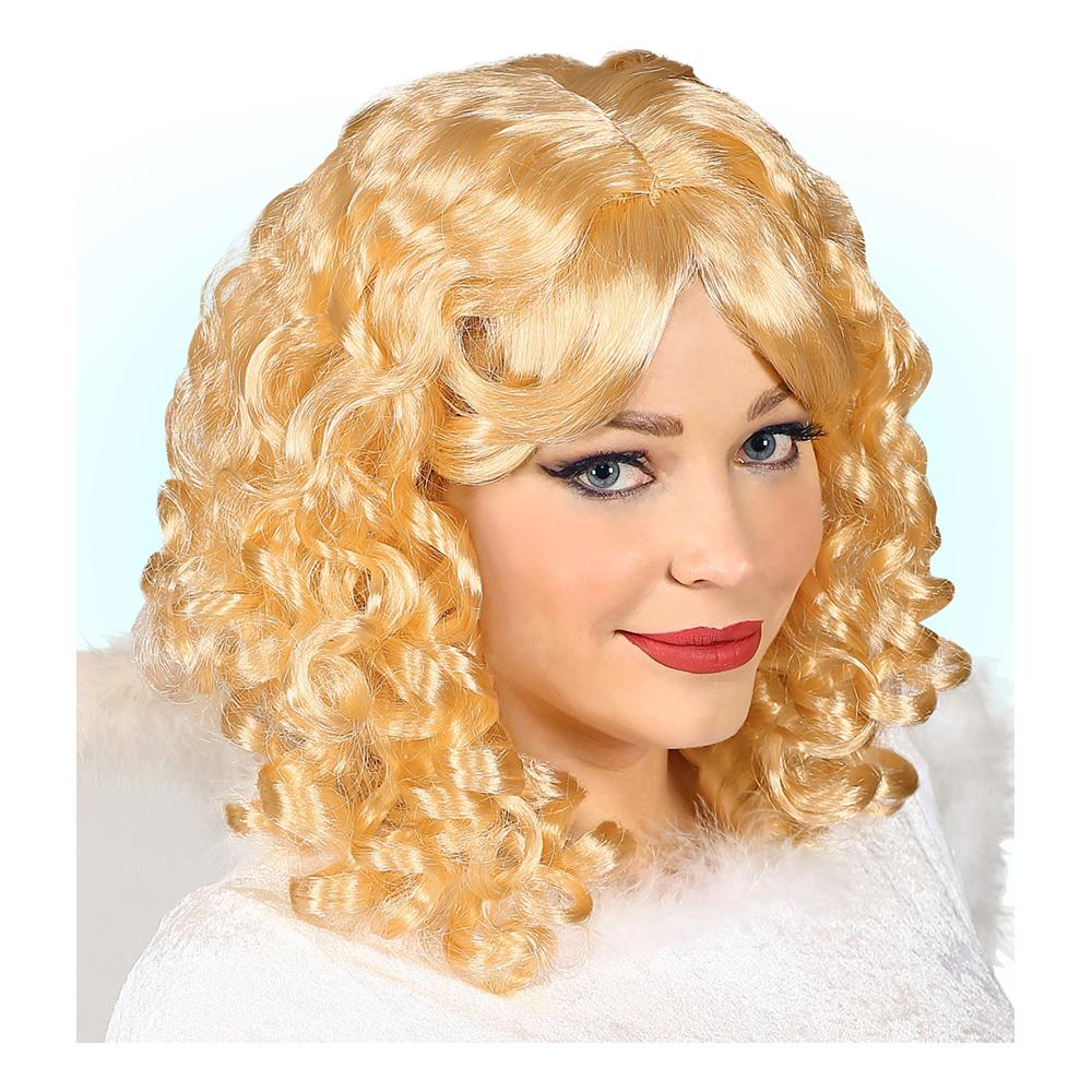 Ängel Peruk Blond - One size