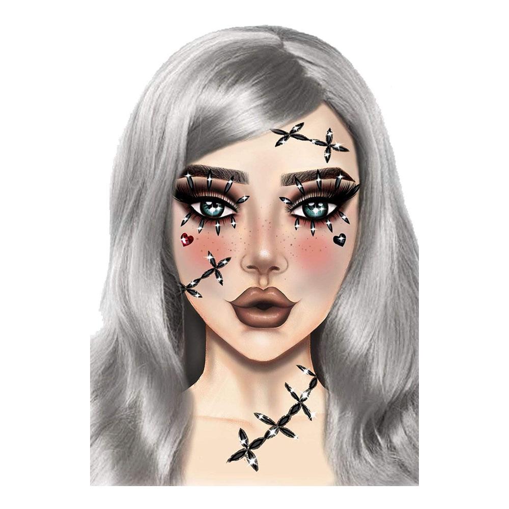 Ansiktssmycken Stitches - One size